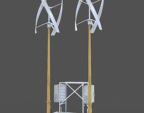 3D model Wind generator