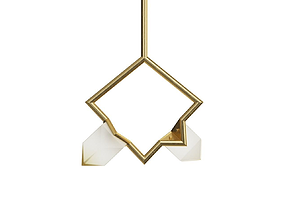 Bec Brittain Seed Double Pendant 3D model