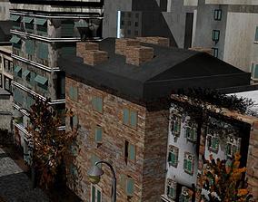 3D model Game Rundown Street