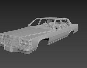 3D print model Cadillac FLeetwood Brougham 1983