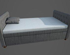 adobe-challenge-pbr-interior-design Bed 3D Model
