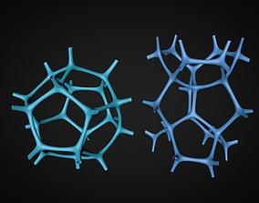 3D model foamed metals