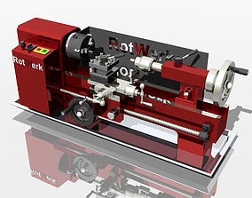 3D model My Lathe