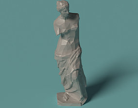 roman Polygonal Statue Venus printable