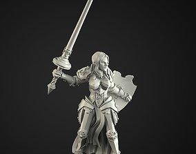 paladin girl 3D print model