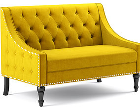 Christiansburg Tufted Loveseat Jamila 3D model