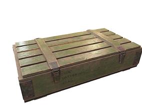 ammobox 3D asset