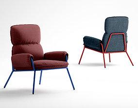 Jardan Jean armchair 3D