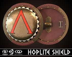 3D model Hoplite Shield Sparta 2