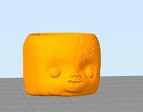 3D printable model Chewie flower pot