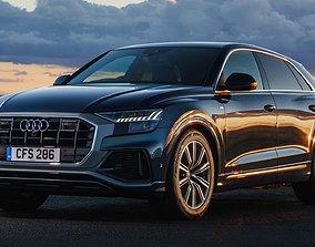 3D asset game-ready Audi Q8 2019