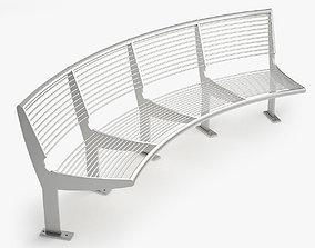 3D model Capri Bench - Type A