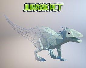 3D asset T-Rex Hybrid
