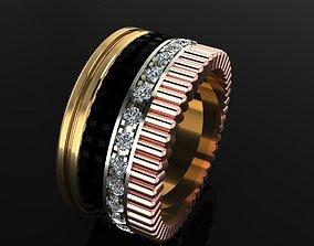 Ring 3 jewellry 3D printable model