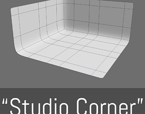 3D asset Studio Corner