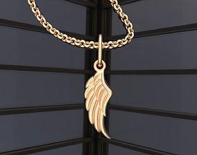 Wing pendant C0-000155 3D printable model