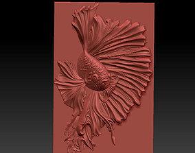 big fish 3D printable model
