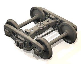 TWO-AXLE TROLLEY 18-555 3D print model