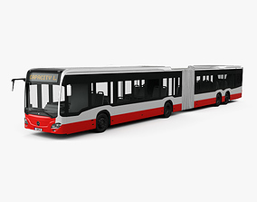 Mercedes-Benz CapaCity L 5-door Bus 2014 3D model
