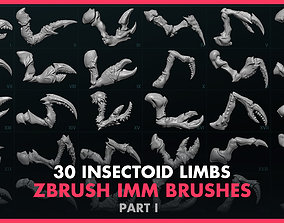 Alien Insectoid Limbs - 30 IMM Brush - Part I 3D