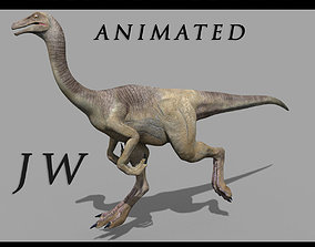 Gallimimus 8192 HD - 3d animated model animated
