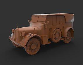 german suv ww2 3D print model