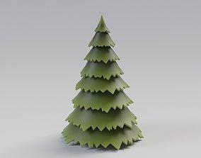 3D model new Fir tree