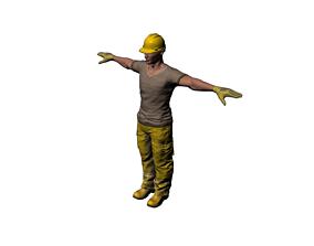 builder 3D asset