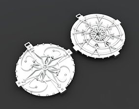 Amulet pendant 3D printable model pendant-necklace