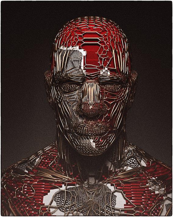 RED BOT HUMANOID 2