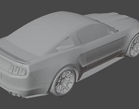 3D model Mustang GT
