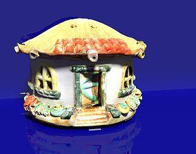 3D print model Mini house ornament