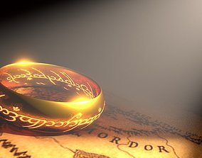 The ONE Ring 3D model VR / AR ready