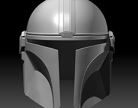 Mandalorian Helmet 3D Printable Model