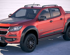 3D model Holden Colorado DoubleCab 2020