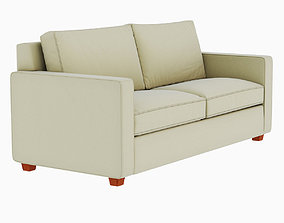 West Elm Henry Sofa 3D model