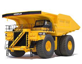 Rigid Dump Truck 3D model