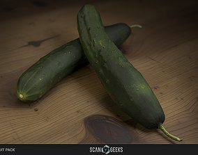 Cucumber - Photogrammetry Asset 3D PhotoScan game-ready