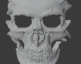 3D printable model Halloween Demon Skull Mask