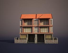 3D asset Apartment House 9
