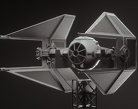 Tie fighter toy 3D