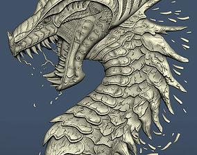 3d STL model for CNC dragon
