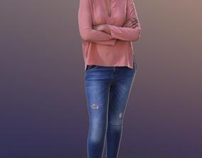 Amaya 10287 - Standing Casual Woman 3D asset