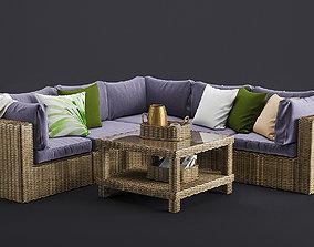 3D Outdoor Furnitures 12
