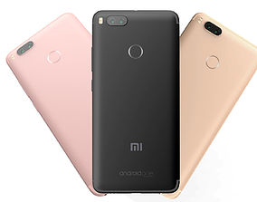 3D Xiaomi Mi A1 3 Color Pack