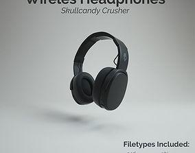 3D asset Skullcandy Crusher Wireless Headphone