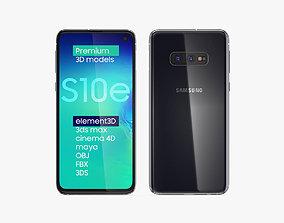 Samsung Galaxy S10e Prism Black 3D