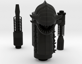 SAMAN WORM HOOKAH FULL KIT 3D printable model