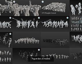 3D model Figure Set