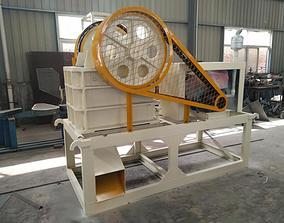 3D model PE750x1060 JAW CRUSHER